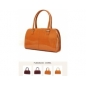 Genuine  Leather Camel Women Handbag - 3bebe.com