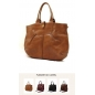 Genuine Leather Messenger Women Carry All Handbag camel 3Bebe