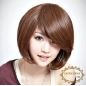 Stylish Cut Short Straight Classic Bob Cut Women Wig