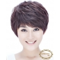 Boy Cut Hair Style Wig Real Human Hair