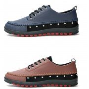 Casual Design Men's Leather Shoes