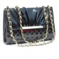 Classic Women Shoulder Bag Elegant Chain Links Design