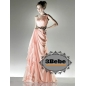 One Shoulder Design Women's Evening Dress