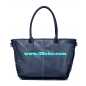 3Bebe Genuine Leather Bucket Style Tote Bag
