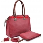 Genuine Leather Carry All Handbag Classic Tote Bag
